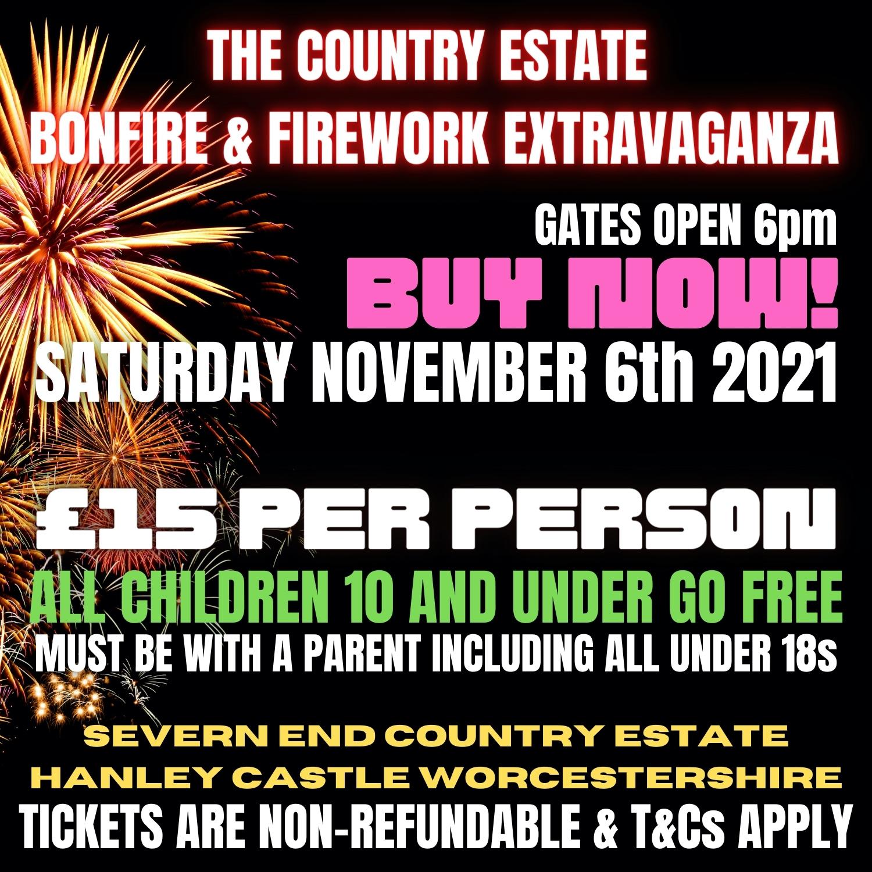 Fireworks Worcester, Malvern 2021